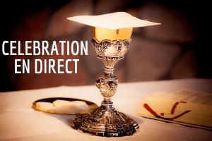 Messe retransmise en direct tous les dimanches à 10h30 sur la page youtube de la paroisse