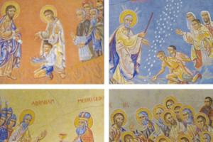 Visites des fresques à l'église Ste Anne de Châtel-Guyon – été 2020