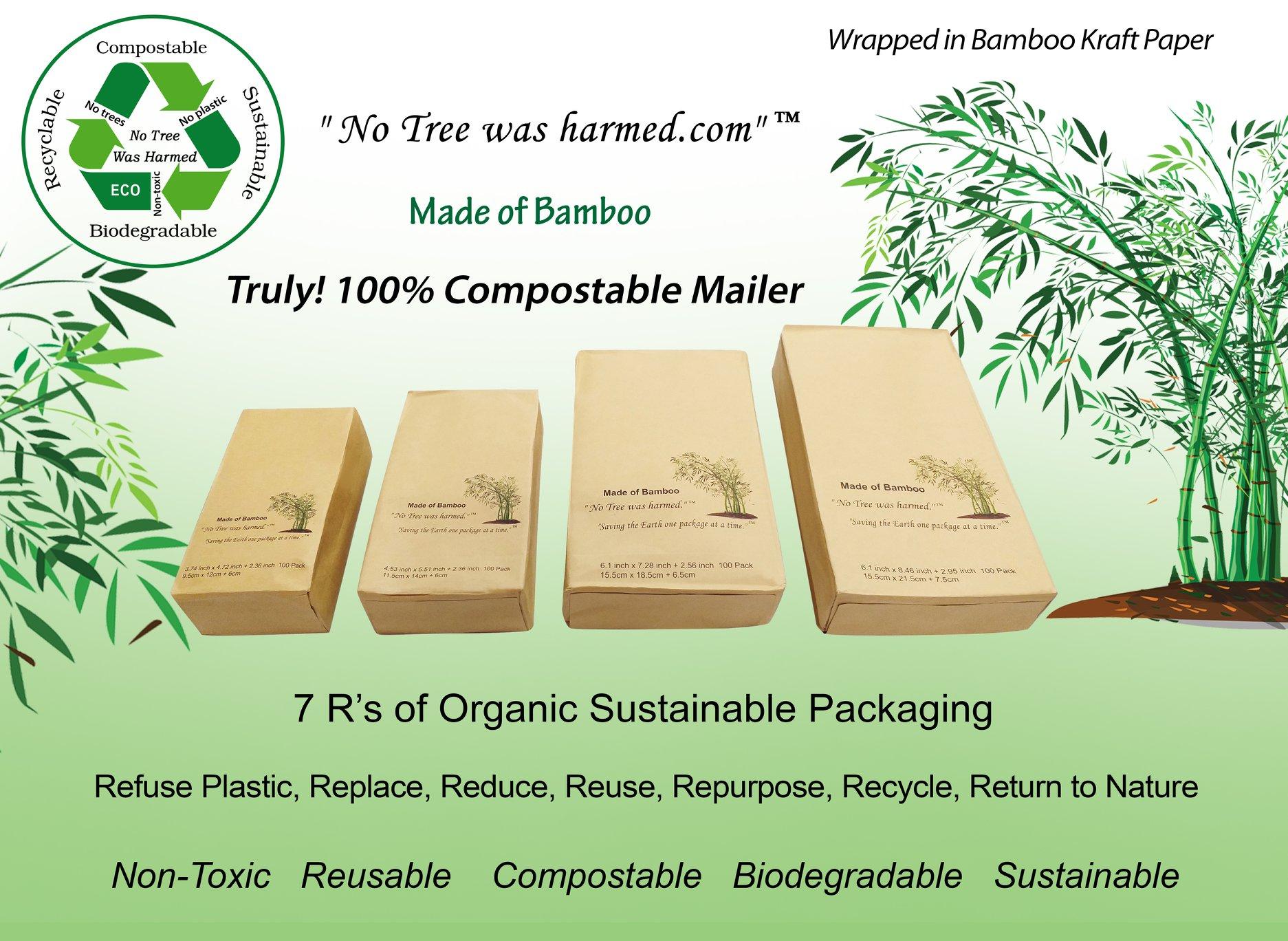 Bamboo Kraft Mailers