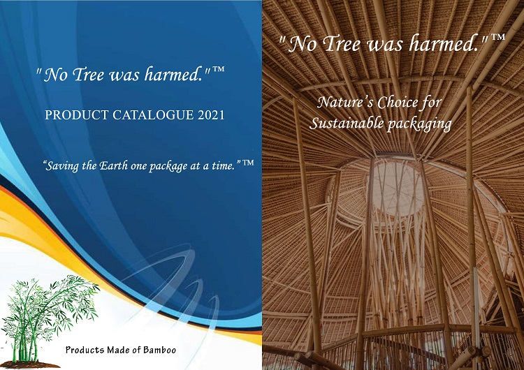 You will receive a condensed catalog with our Eco-Friendly Bamboo Packaging - Bamboo Shipping Supplies, and a second Wholesale Catalog that lists all the Green Bamboo Products available on our website and those that can be private labeled.