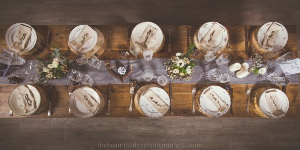 Mariage d'inspiration Hivernale