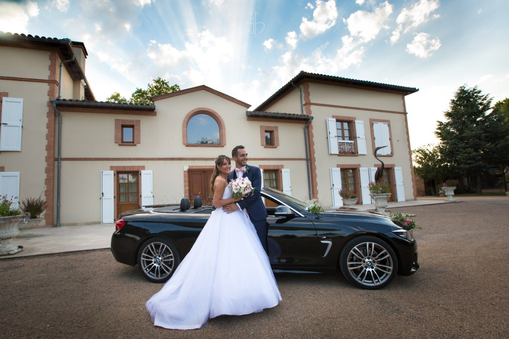 Photo de couple Audrey et Geoffrey 14 juillet 2018 Domaine de Bordeblanque The Beautiful Day Photographe de mariage Julien Bergeaud Toulouse 31 Haute-Garonne