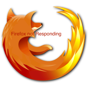 firefox not responding windows 10