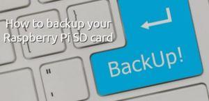 backup sd card