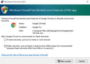 Chrome ERR_SSL_PROTOCOL_ERROR