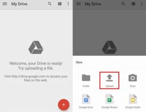 backup sd card to google drive
