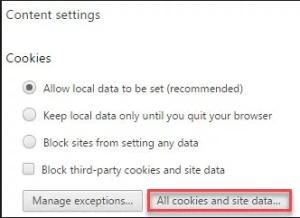 Chrome's HTTP Error 400
