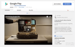 Google web store Play Store download