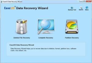 Memory card recovery-EaseUS