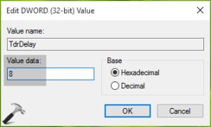 graphics hardware error