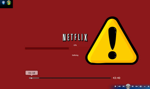 Netflix error on chrome