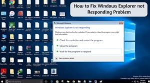 How to Resolve Computer Not Responding Problem