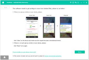retrieve blocked text messages