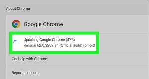update google chrome to fix media file loading error