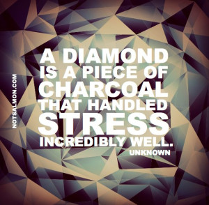 karen salmansohn diamond stress