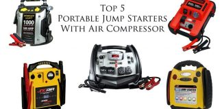 jump starter with air compressor top 5 best