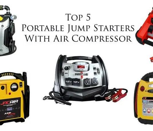 jump starter with air compressor top 5 best