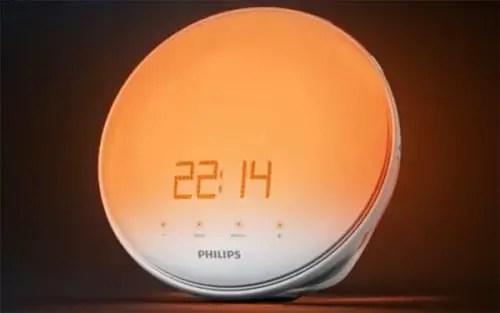 Best Natural Light Alarm Clock Philips Wake Up Lamp
