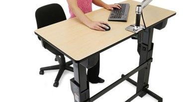 The Proper Height Of A Standing Desk Notsitting Com