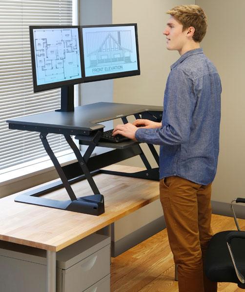 Standing Desk Converter Notsitting Com