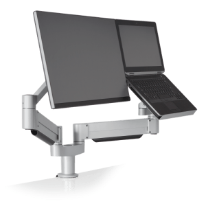 Innovative 7050 - Height-Adjustable Laptop & Monitor Mount