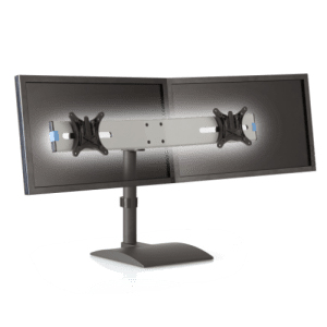 Innovative Freestanding Dual Monitor Stand 9109-Switch Front