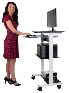 luxor-three-shelf-adjustable-stand-up-workstation-model