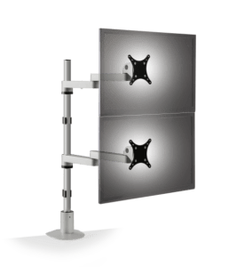Innovative Long-Reach Articulating Dual Flat Panel Mount 9130-D-FM Front