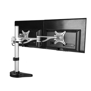 FLEXIMOUNTS M13 Dual Arm Monitor Desk Mount Lcd arm