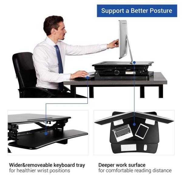 FlexiSpot M2B - Retractable Keyboard Tray