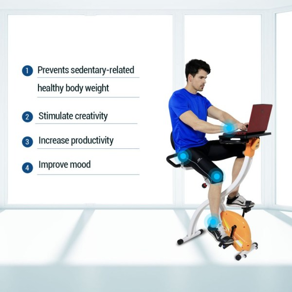 Loctek FX1M Fitness Magnetic Laptop Bike - Benefits