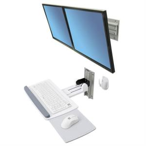 Neo-Flex® Dual Monitor Wall Mount