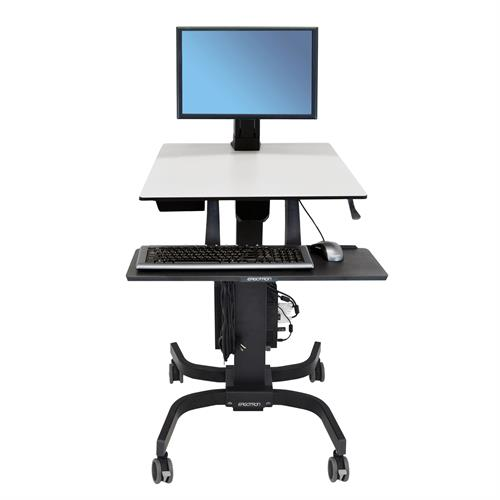 WorkFit-C, Single LD Sit-Stand Workstation 2