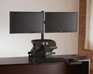 TaskMate Dual Monitor Articulating Arm