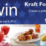 Kraft Foods, Summer Pin & Win Sweeps!