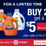 Buy Tide at Target and get a $5 Gift Card