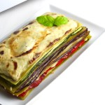 Green Lentil Vegetable Lasagne for Two