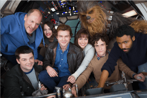 Han Solo Star Wars Story Has Officially Begun!