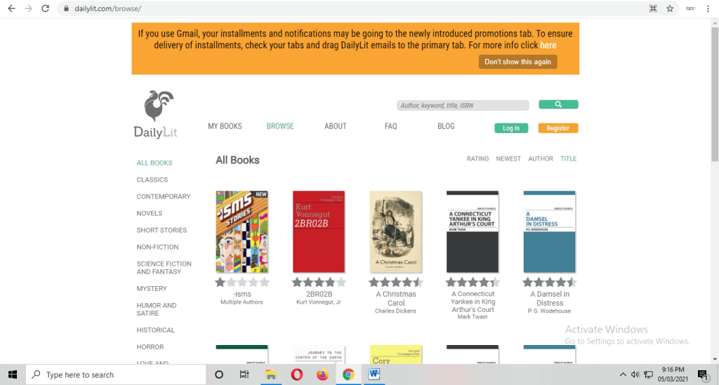 free book reading sites online