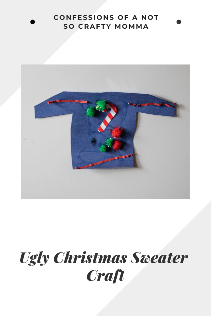 Ugly Christmas Sweater Craft