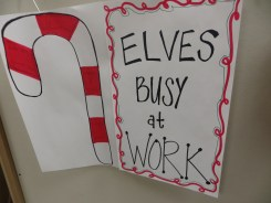 Elves Busy at Work
