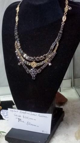 $200,000 Sapphire Necklace