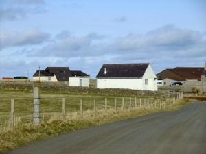 The island's telephone exchange