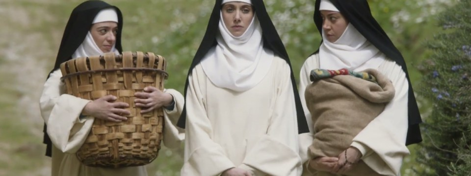 Alison Brie, Aubrey Plaza, and Kate Micucci in The Little Hours