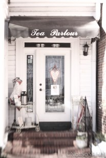 Tea parlour in Pinehurst Not So SAHM