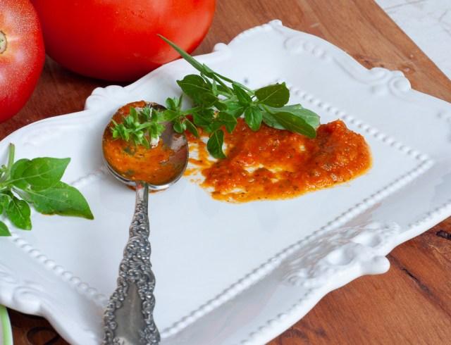 Roasted tomato marinara pasta sauce
