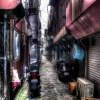 【HDR写真】長崎ハモニカ横丁は圧倒的な存在感を放っていた。
