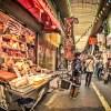 【HDR写真】レトロな風景はHDR化するといっそう味が出る!北九州の台所・旦過市場。
