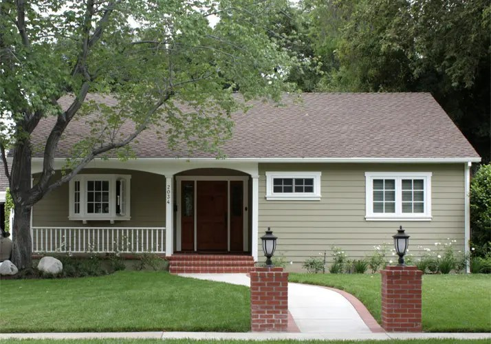 50 S Style Ranch Home Paint Idea