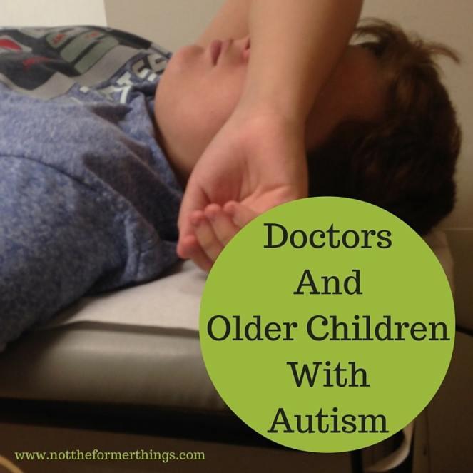 Doctors and Older Children With Autism